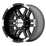 Moto Metal Series MO951 Gloss Black Machined - 16 X 8 Inch Wheel