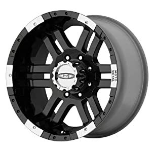 Moto Metal Series MO951 Gloss Black Machined Wheel (18x9