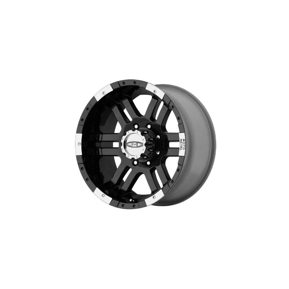 "Moto Metal Series MO951 Gloss Black Machined Wheel (16x9""/8x6.5"") Automotive"