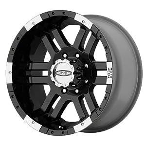 "Moto Metal Series MO951 Gloss Black Machined Wheel (17x9""/6x5.5"")"