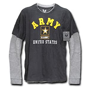 Rapiddominance Army Highlight Tee, Black, Small