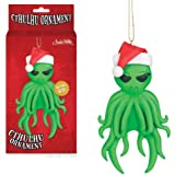 Cthulhu Christmas Tree Ornament H. P. Lovecraft Xmas Alien Hanging Holiday