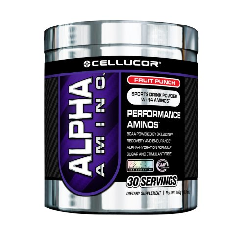 Cellucor Alpha Amino, 30 portions, Fruit Punch