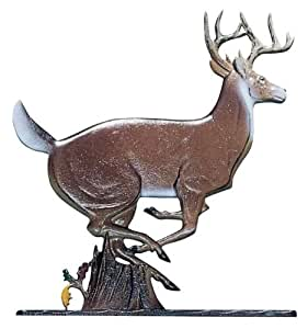 Whitehall Products Buck Weathervane, 30-Inch, Rooftop Color