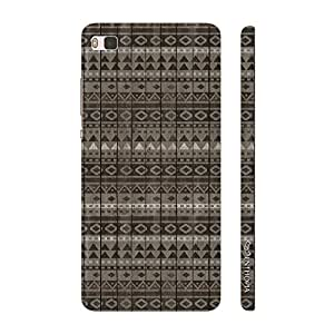 Enthopia Designer Hardshell Case Winter feel Back Cover for Huawei P8