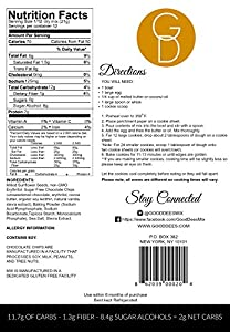 Low Carb Sugar Free And Gluten Free Chocolate Chip Cookie Mix