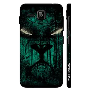 Micromax Bolt S301 Scary eyes designer mobile hard shell case by Enthopia