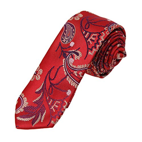 dan-smith-corbata-paisley-para-hombre-rojo-dae7b08h-red-wheat-talla-unica