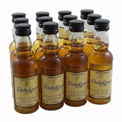 Dalwhinnie 15yr Single Malt Scotch Whisky 5cl Miniature - 12 Pack from Dalwhinnie