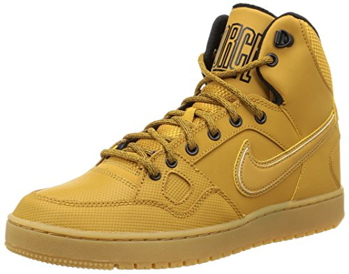 Nike Son Of Force Mid Winter Scarpe da ginnastica, Uomo, Marrone (Wheat/Black/Gum Light Brown), 44