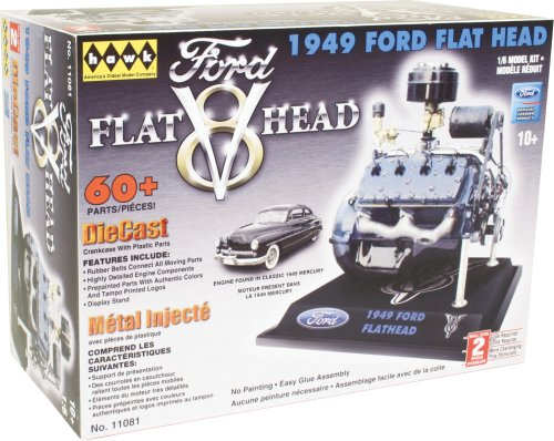 Hawk 1/6 scale Ford Flathead V8 model kit