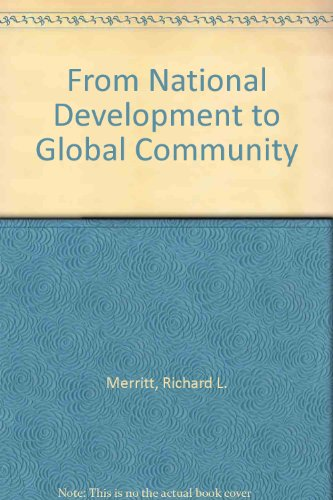 From National Development to Global Community