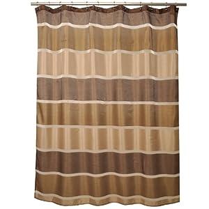Famous Home Fashions Congo Shower Curtain Beige Shower Curtai