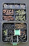 POCKET BOX CARP COARSE FISHING IN CHARGE OF LEAD CLIPS HOOKS RIGTUBE tail cones SIZE 8 CARP SWIVELS PEARLS GIFT BACK LEAD Great Clips for any fisherman CARP