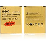 Gold 3250mAh High Capacity Battery For Samsung Galaxy S3