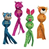 KONG Wubba Ballistic Friends, Large Dog Toy, Assorted