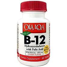 buy Wholesale Ola Loa Products Sublingual Hydroxycobalamin B12 - 60 Tablets, [Health Supplements, Vitamins]