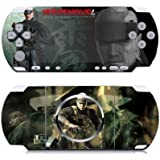 Metal Gear Solid Vinyl Decal Skin Sticker for Sony PSP 3000