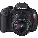 Canon EOS Rebel T3i DSLR Camera w/18-55mm IS II Lens Kit