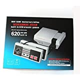 2018 New One day Sales !Mini TV Video Handheld Game Console Video Games Consoles Built-in 500/620 Classic Games For Nes Classic Games PAL&NTSC (620 Games)