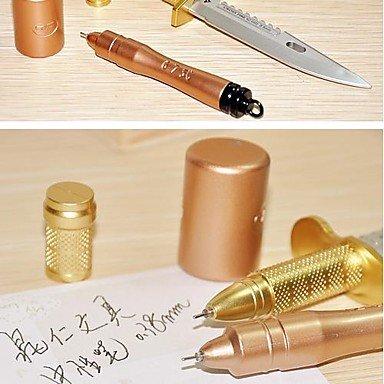 LWW Granada + Daga Diseño Negro Tinta Gel Pen Set