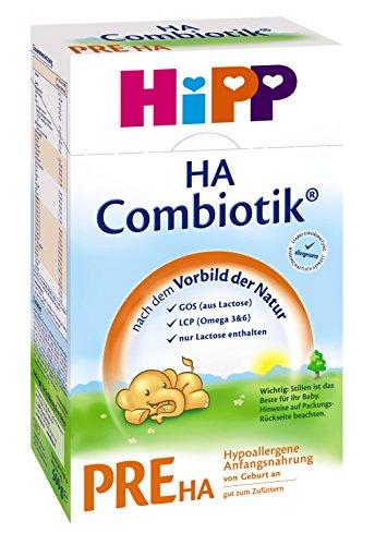 Hipp-Pre-HA-Combiotik-Hypoallergene-Anfangsmilch-von-Geburt-an-2er-Pack-2-x-500g