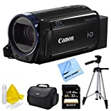 Canon Vixia HF R62 High Definition Camcorder Deluxe Bundle