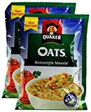 #8: Big Bazaar Combo - Quaker Oats Home Style Masala, 40g (Pack of 2) Promo Pack