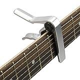 Tiger GACAPO2 Capo for Guitar - Chrome