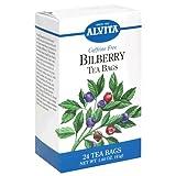 Alvita Tea Bags, Bilberry, Caffeine Free, 24 tea bags (Pack of 3)