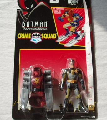 Ski Blast Robin Action Figure