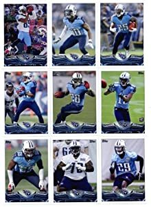 2013 Topps NFL Football Team Set - Tennessee Titans 12 Cards Darius Reynaud Jason... by Topps