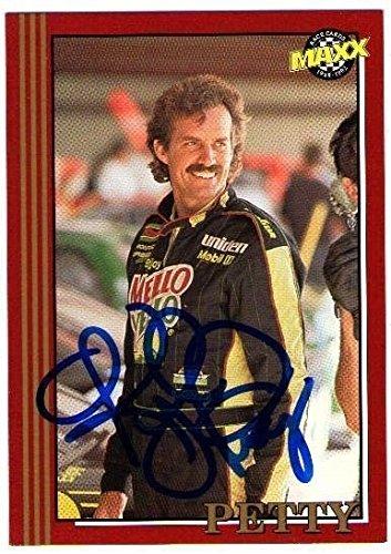kyle-petty-1992-maxx-autograph-signature-auto-on-card-mello-yello