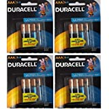 Duracell Alkaline Battery AAA4 COMBO(8ultra +8normal) PACK OF 4 (16 Cell)
