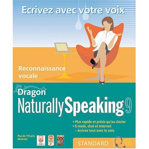 Dragon NaturallySpeaking Standard 9.0 French (vf)