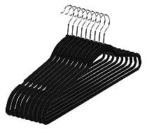Premium Velvet Hangers (Pack of 50) Heavy Duty - Non Slip - Velvet Suit Hangers by Utopia Home
