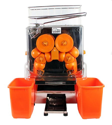 Commercial Automatic Electric Orange Lemon Juice Machine Maker Juicer Squeezer