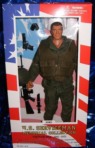 Buy Low Price Formative International U.S. Serviceman Vietnam War Army 12″ Action Figure (B001CM3P8Y)