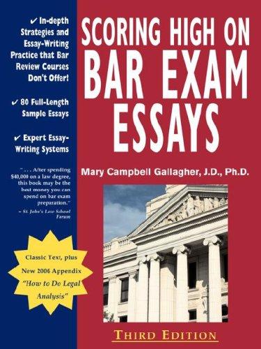 Indiana bar exam essays