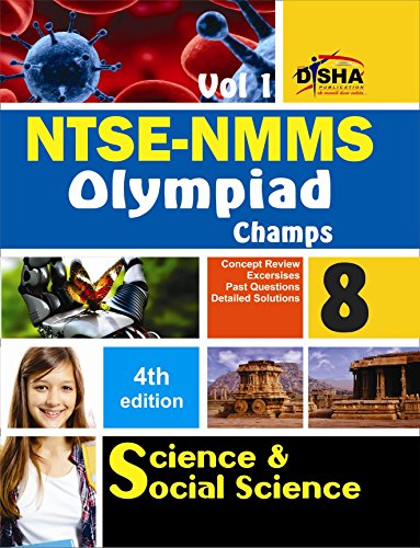 NTSE-NMMS/Olympiads Champs Class 8 Science/Social Science - Vol. 1