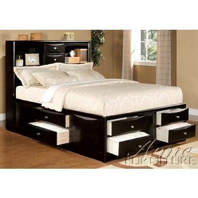 casandracarreonviews ACME Full Size Storage Bed Black