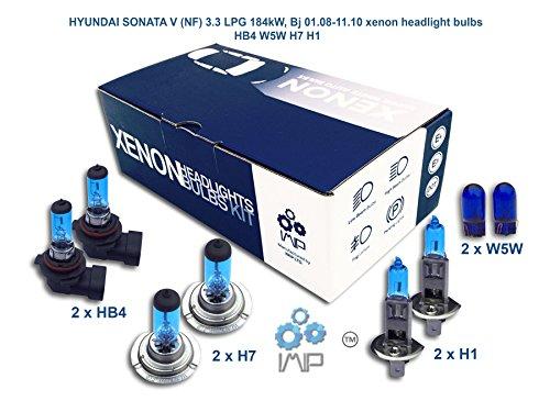 hyundai-sonata-v-nf-33-lpg-184-kw-bj-018-1110-xenon-lampen-scheinwerfer-hb4-w5-w-h7-h1