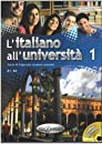 L'Italiano All'Universita: Libro + CD-Audio 1 (Level A1-A2)