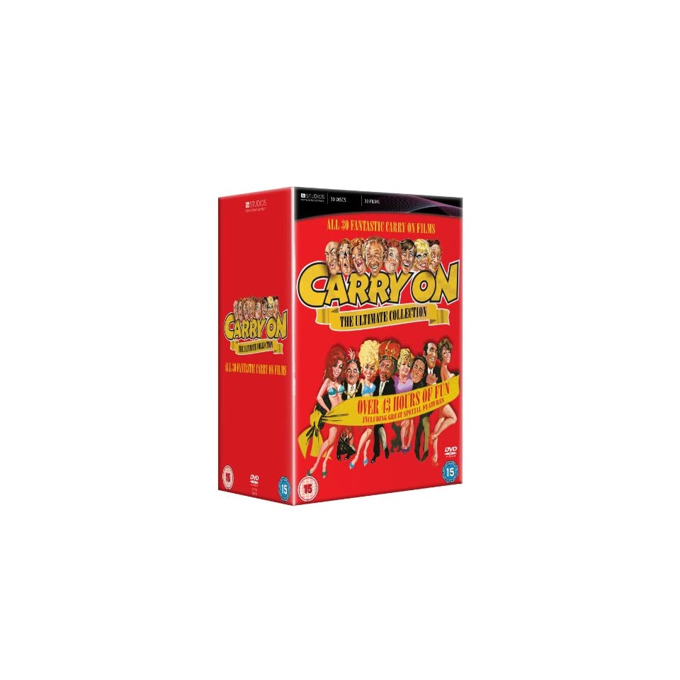 Carry on Collection [12 DVD Box Set] [UK Import]  Carry on