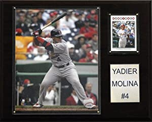 MLB Yadier Molina St. Louis Cardinals Player Plaque by C&I Collectables