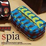 Spia(スピーア)FSP-0505 背面はティッシュケースになった便利機能いっぱいの化粧ポーチ!たっぷりサイズだから普段お化粧品をたくさん持ち歩く人はもちろんお泊り用にも便利な最強コスメポーチ★
