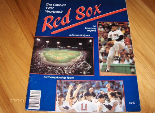 1987 Boston Red Sox Official Yearbook at Amazon.com