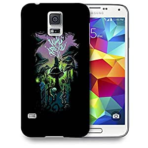 Snoogg Who Are You Designer Protective Back Case Cover For SAMSUNG GALAXY S5