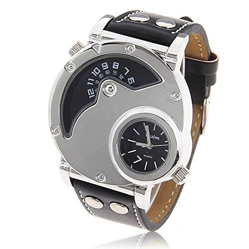 unique-oulm-multi-function-quartz-mens-2-time-zone-military-army-quartz-business-sport-wristwatch-bl