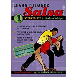 Salsa Crazy Presents: Learn to Salsa Dance, Intermediate Series, Volume 1
